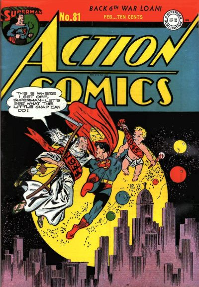 Cover for Action Comics (DC, 1938 series) #81