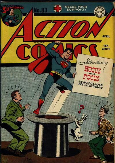 Cover for Action Comics (DC, 1938 series) #83