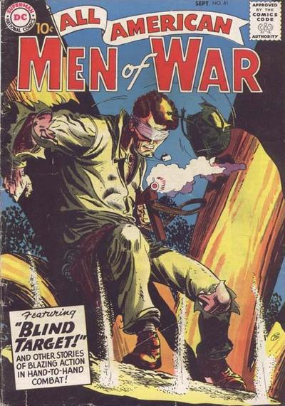 Cover for All-American Men of War (DC, 1953 series) #61
