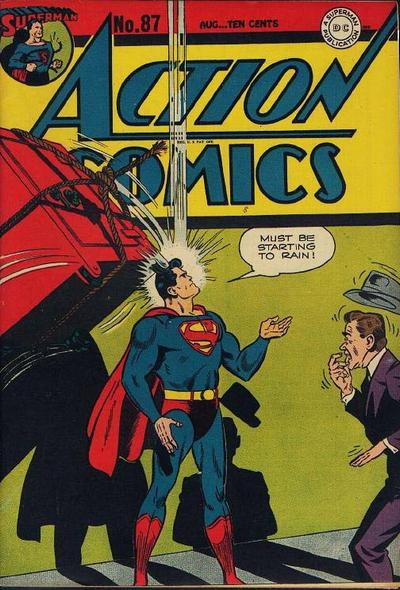 Cover for Action Comics (DC, 1938 series) #87