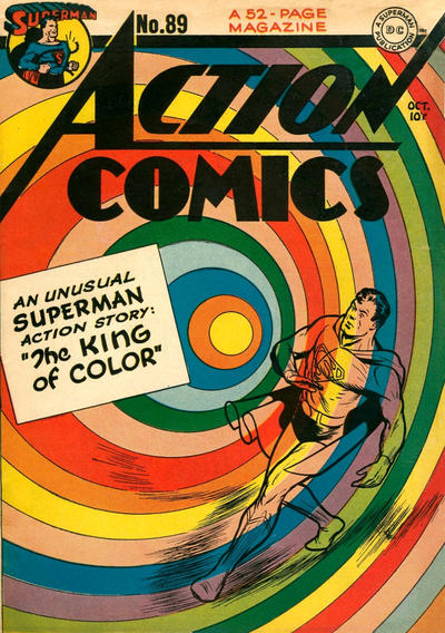 Cover for Action Comics (DC, 1938 series) #89