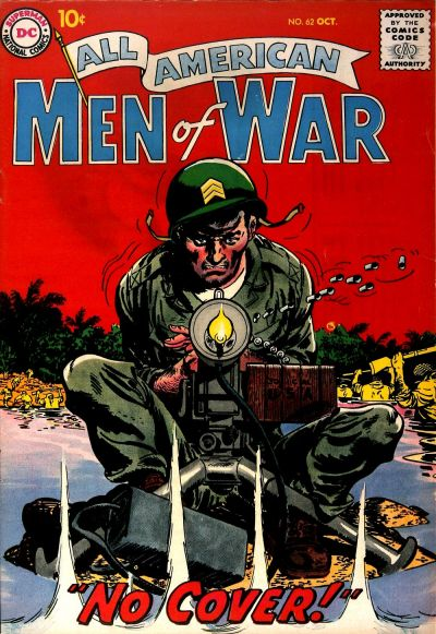 Cover for All-American Men of War (DC, 1953 series) #62