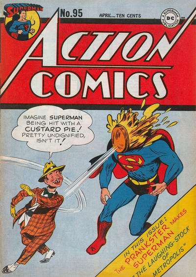 Cover for Action Comics (DC, 1938 series) #95