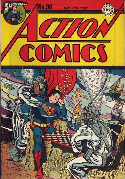 Cover for Action Comics (DC, 1938 series) #96