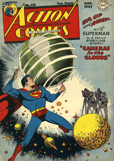 Cover for Action Comics (DC, 1938 series) #111