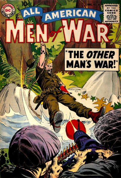 Cover for All-American Men of War (DC, 1953 series) #64
