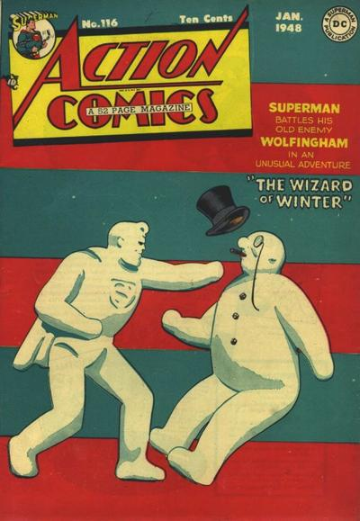 Cover for Action Comics (DC, 1938 series) #116