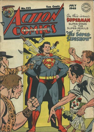 Cover for Action Comics (DC, 1938 series) #122