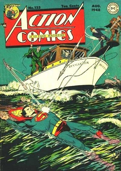 Cover for Action Comics (DC, 1938 series) #123