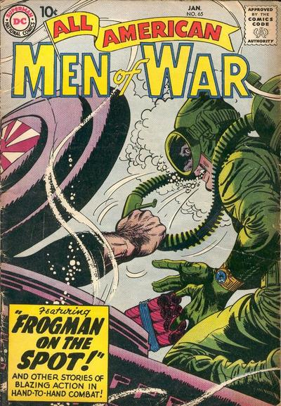 Cover for All-American Men of War (DC, 1953 series) #65