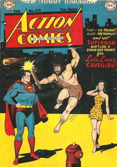Cover for Action Comics (DC, 1938 series) #129