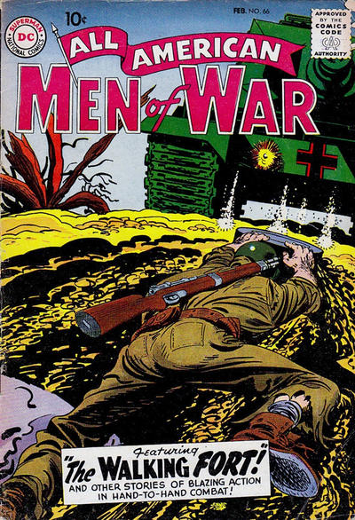 Cover for All-American Men of War (DC, 1953 series) #66