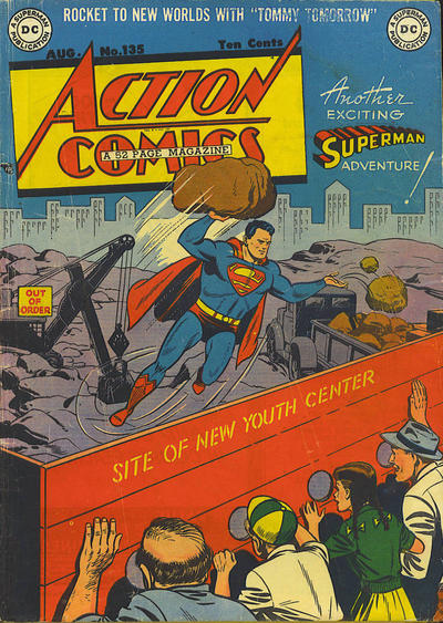 Cover for Action Comics (DC, 1938 series) #135