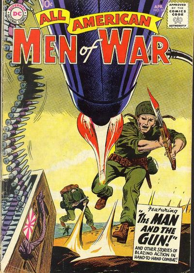 Cover for All-American Men of War (DC, 1953 series) #68