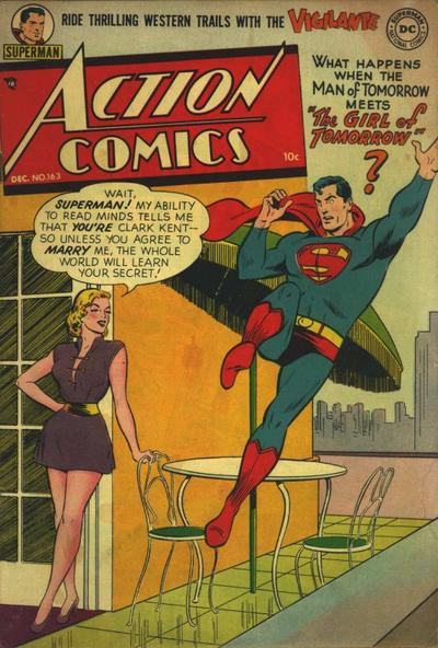 Cover for Action Comics (DC, 1938 series) #163
