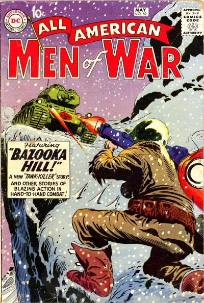 Cover for All-American Men of War (DC, 1953 series) #69
