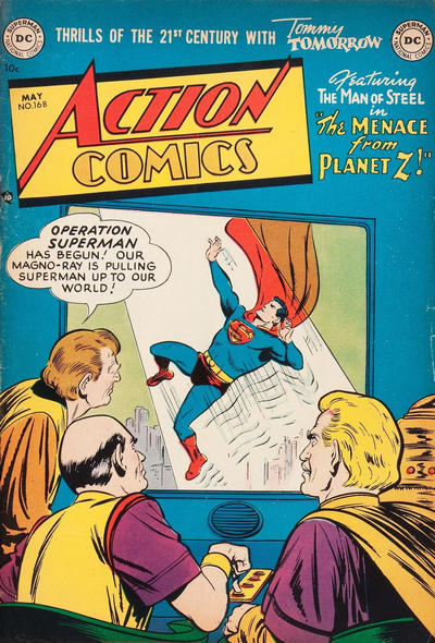 Cover for Action Comics (DC, 1938 series) #168
