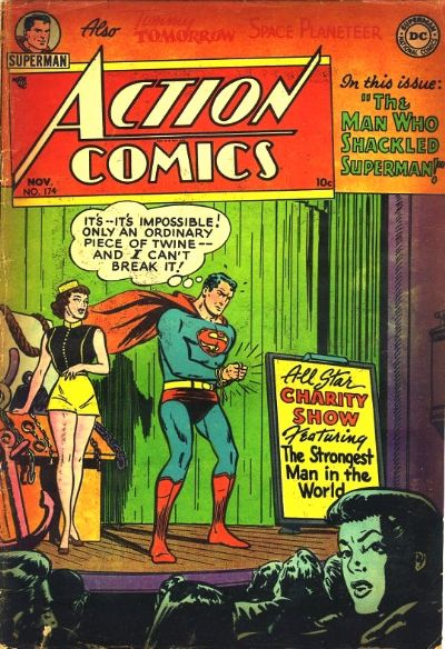 Cover for Action Comics (DC, 1938 series) #174