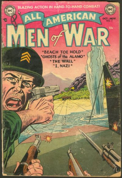 Cover for All-American Men of War (DC, 1953 series) #7