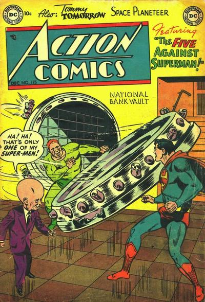 Cover for Action Comics (DC, 1938 series) #175