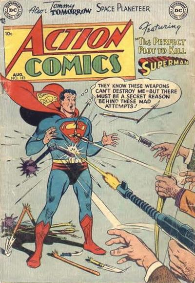 Cover for Action Comics (DC, 1938 series) #183