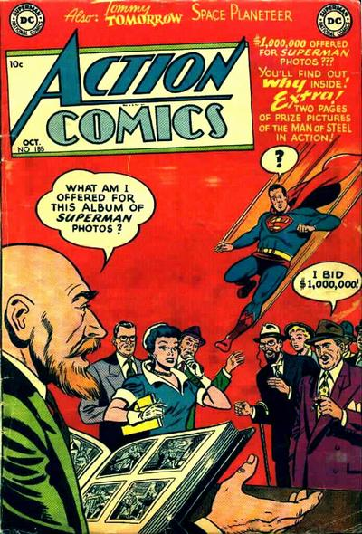 Cover for Action Comics (DC, 1938 series) #185