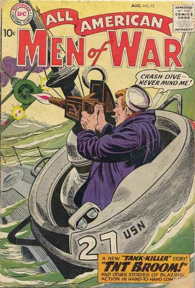 Cover for All-American Men of War (DC, 1953 series) #72