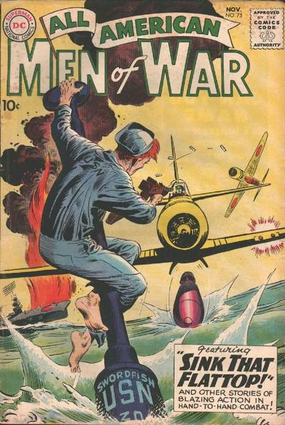 Cover for All-American Men of War (DC, 1952 series) #75