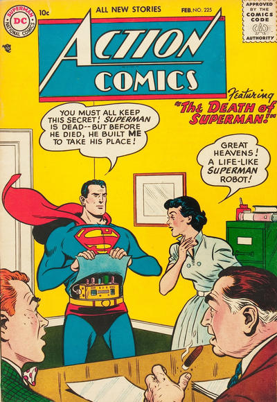 Cover for Action Comics (DC, 1938 series) #225