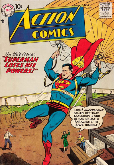 Cover for Action Comics (DC, 1938 series) #230