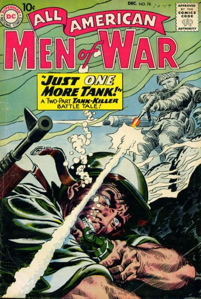 Cover for All-American Men of War (DC, 1953 series) #76