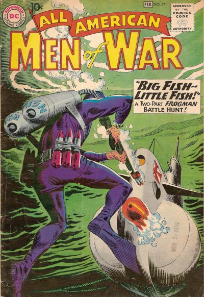 Cover for All-American Men of War (DC, 1953 series) #77
