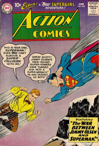 Cover for Action Comics (DC, 1938 series) #253
