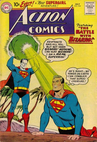 Cover for Action Comics (DC, 1938 series) #254
