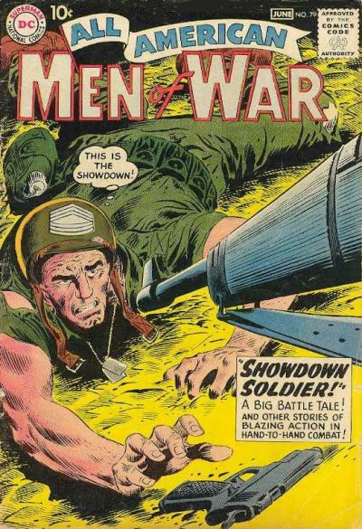 Cover for All-American Men of War (DC, 1953 series) #79