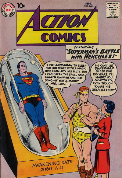 Cover for Action Comics (DC, 1938 series) #268