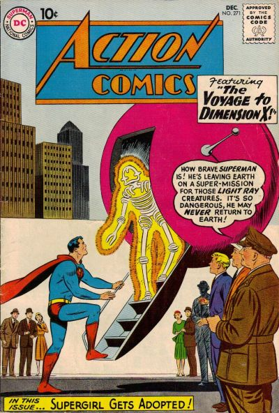 Cover for Action Comics (DC, 1938 series) #271