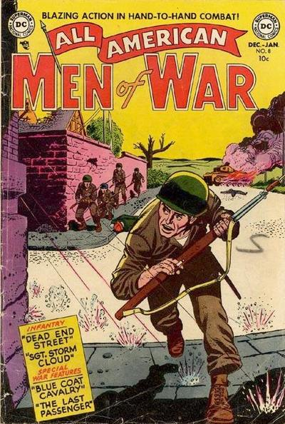 Cover for All-American Men of War (DC, 1953 series) #8
