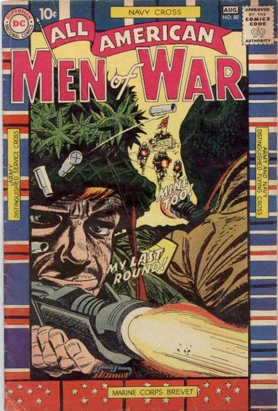Cover for All-American Men of War (DC, 1953 series) #80