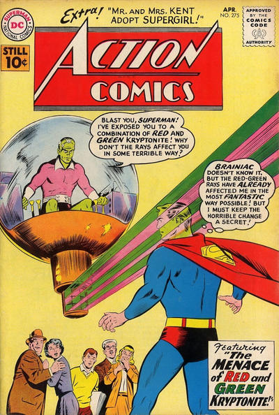 Cover for Action Comics (DC, 1938 series) #275