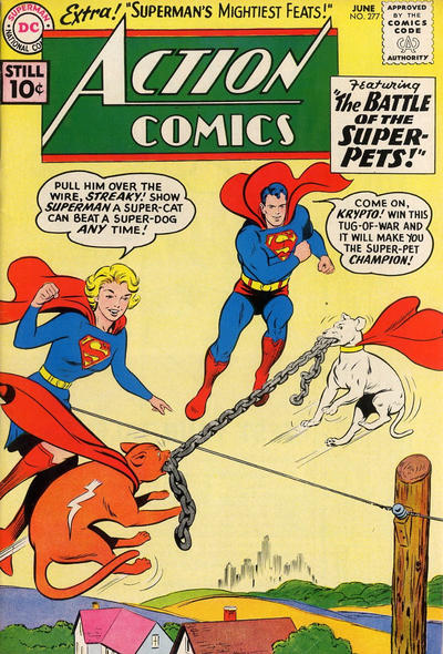 Cover for Action Comics (DC, 1938 series) #277
