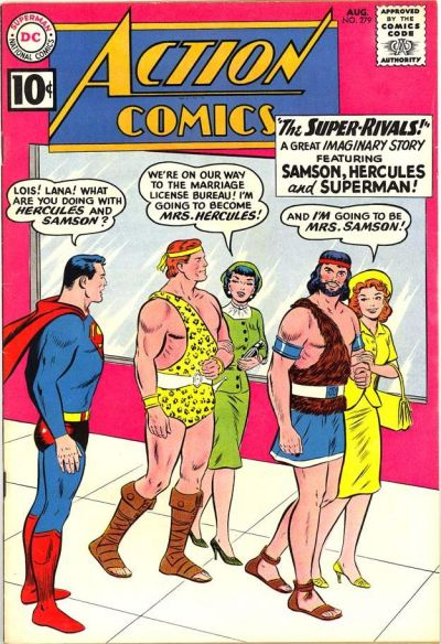 Cover for Action Comics (DC, 1938 series) #279