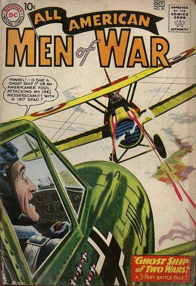 Cover for All-American Men of War (DC, 1953 series) #81