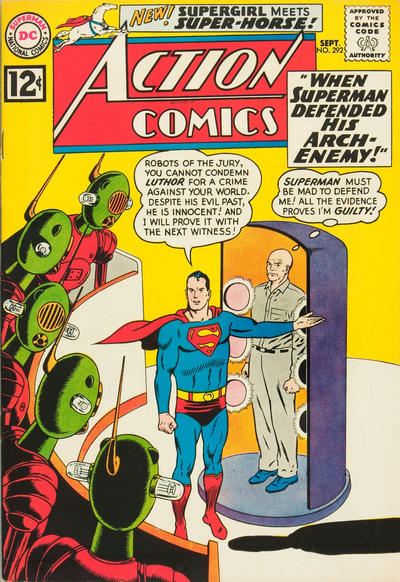 Cover for Action Comics (DC, 1938 series) #292