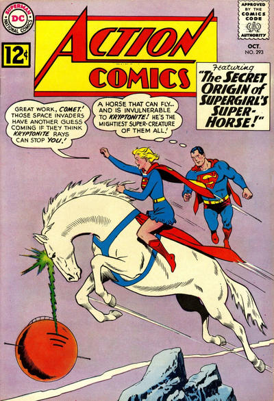 Cover for Action Comics (DC, 1938 series) #293