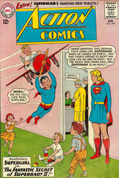 Cover for Action Comics (DC, 1938 series) #299