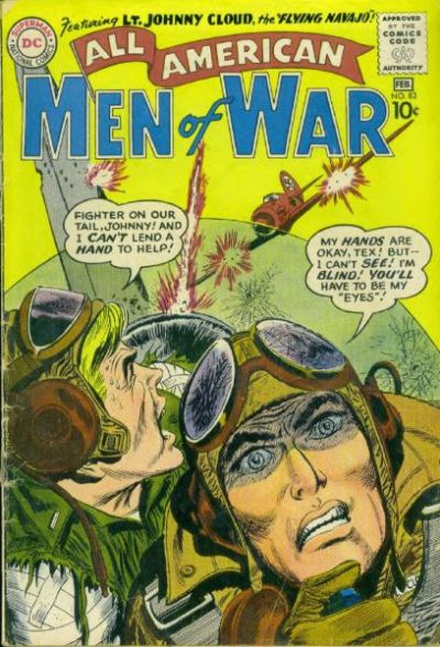 Cover for All-American Men of War (DC, 1953 series) #83