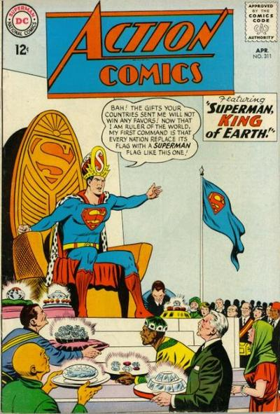 Cover for Action Comics (DC, 1938 series) #311