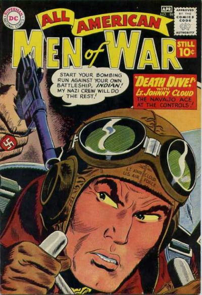 Cover for All-American Men of War (DC, 1953 series) #84