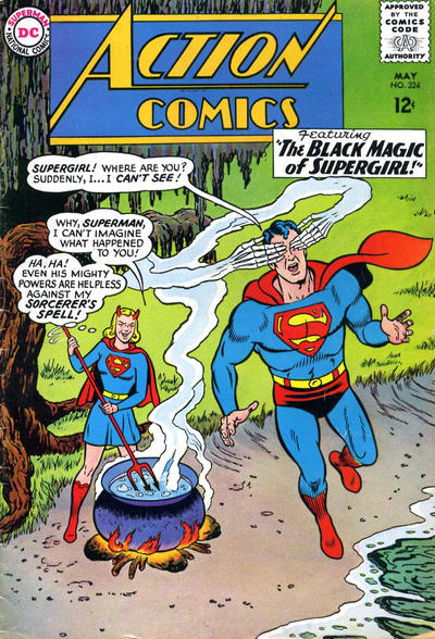 Cover for Action Comics (DC, 1938 series) #324